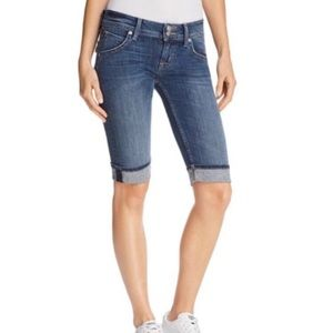 Hudson Jeans Palerme Knee Cuffed Shorts. Size 25